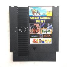 Top 143 in 1 Game Cartridge Card for 72 Pin 8 Bit Video Game Console Retro Card with game Earthbound Fantasy 1 2 3 Save