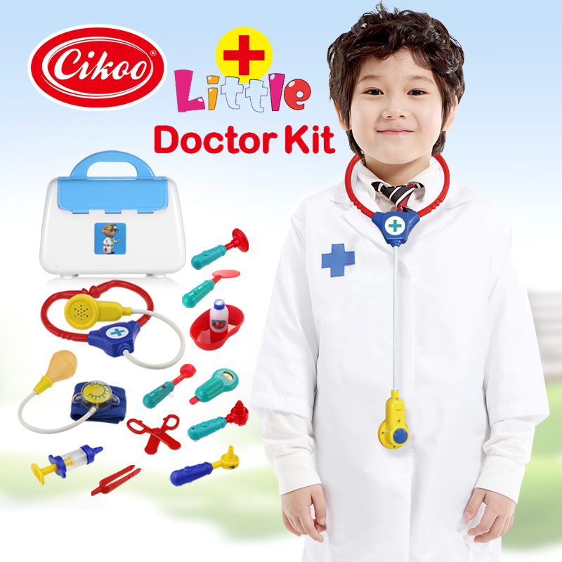 Toy Doctor Kit : High quality doctor toys stethoscope bag set toy
