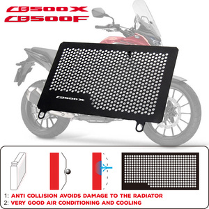Estelle Motorcycle Radiator Protective Cover Grill Guard Grille Protector For HONDA CB500F CB500X CB 500 X F 2013-2018(China)
