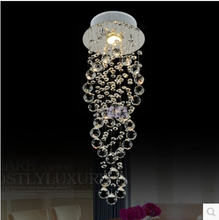 Modern Ing Led Crystal Chandeliers Imported K9 Lamps Re Light For Ac 90