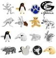 Free shipping Cuff Links horse design animal series bear elephant penguin kangaroo eagle men cufflinks whoelsale&retail