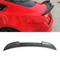 Carbon Fiber Rear Lip Spoiler Wings for Ford Mustang GT V8 V6 GT350R Coupe 2015 2016 2017 Car styling