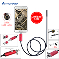 Endoscope 7MM 2M 5M 10M USB Android Endoscope Camera IP67 Waterproof Android Endoscopic Borescope USB Endoskop Inspection Camera
