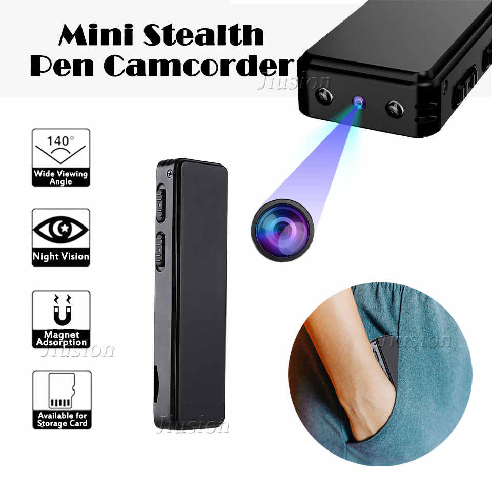 HD 720P Mini Camera Magnetic Pen Video Voice Recorder Active Noise Cancellation Portable Camcorder Night Vision Micro Cam