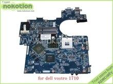 laptop motherboard for dell vostro 1710 JAL60 LA-4131P Rev 1A CN-0D816K 0D816K 965PM nvidia GeForce 8600M DDR2