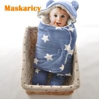 Baby Blankets Newborn Baby Boy Girl Polar Fleece Blanket Bedding Swaddle Envelope For Newborns Organic Warm