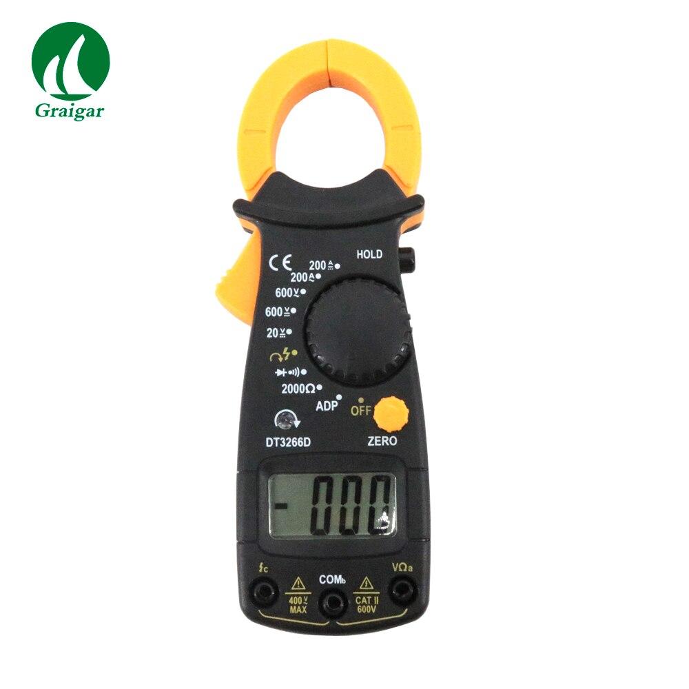 Numérique Pince Multimètre AC DC Multimètre DT3266D Firewire Discriminante et Phase Séquence Mesure