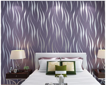 beibehang Environmentally friendly water ripple non-woven fabric three-dimensional flocking 3D living room bedroom wallpaper beibehang fine pressure continental garden 3d three dimensional non woven wallpaper warm bedroom living room full shop