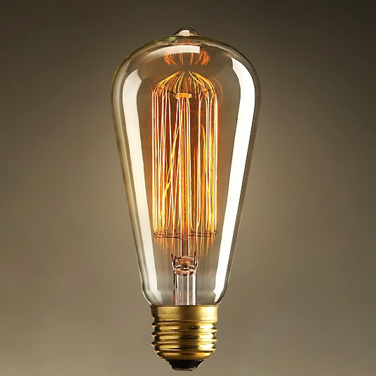 Lightinbox Vintage Edison Bulb Clear Gl Light Bulbs Incandescent Silk In From Lights Lighting On Aliexpress Alibaba