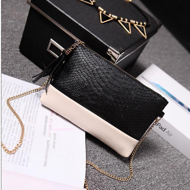 Women Wallet Purse Lady PU Leather European and American Fashion crocodile grain handbags Clutch Casual Shoulder Messenger Bags