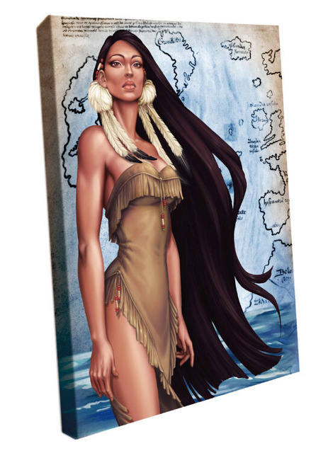 You are native americans hot women she one