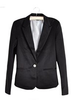 2014 New Fashion Women's Coats Candy Color Basic Slim Suit Jacket Blazer Casacos Femininos 6 Colors 25