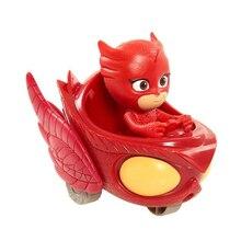 1pcs lot Pj Masked Cartoon Characters Catboy Owlette Gekko Cloak Toys Car Set PjMasksed Toy Action