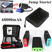 Car Jump Starter Portable 68000mAh Car-Stlying Starting Device Power Bank 12V Diesel Petrol Car Charger For Car Battery Booster