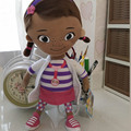 Original Doc McStuffins brinquedos de pelúcia macia, 32 cm = 12.6 inch Dottie McStuffins Doc menina plush para Crianças & crianças & do presente do bebê
