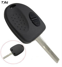 TYUI 2 Buttons Car Key For Chevrolet Holden Remote Key Covers Fobs Replacements No Logo