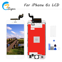 1PCS New AAA No Dead Pixel Mobile Phone LCDs Panel For IPhone 6S LCD Display With