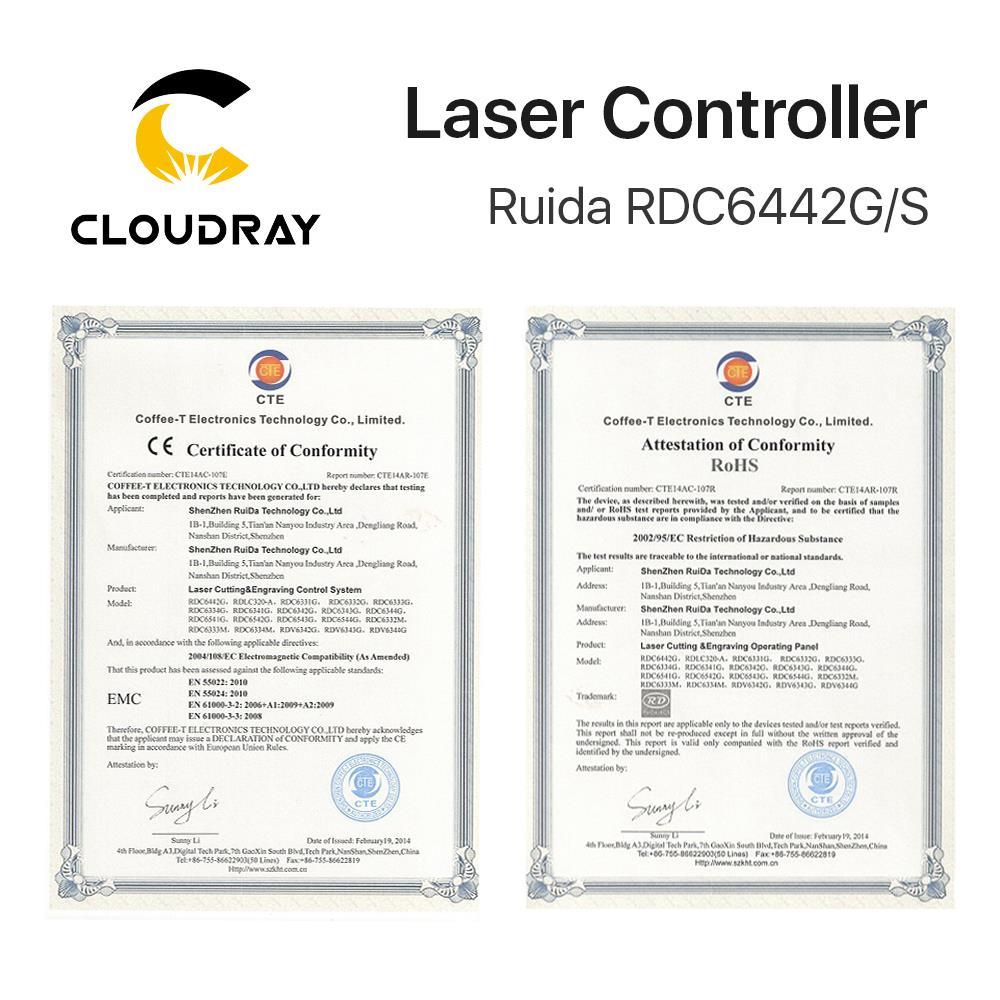 Controller DSP Laserray Ruida RD RDC6442G Co2 per macchina per - Macchine utensili e accessori - Fotografia 6