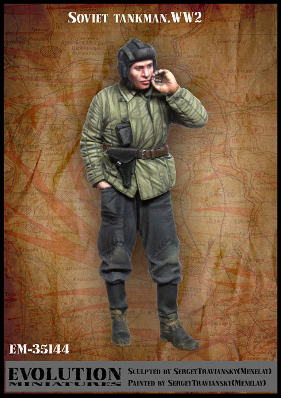 1:35 35549 Soviet Tanks .WW2 In Smoking