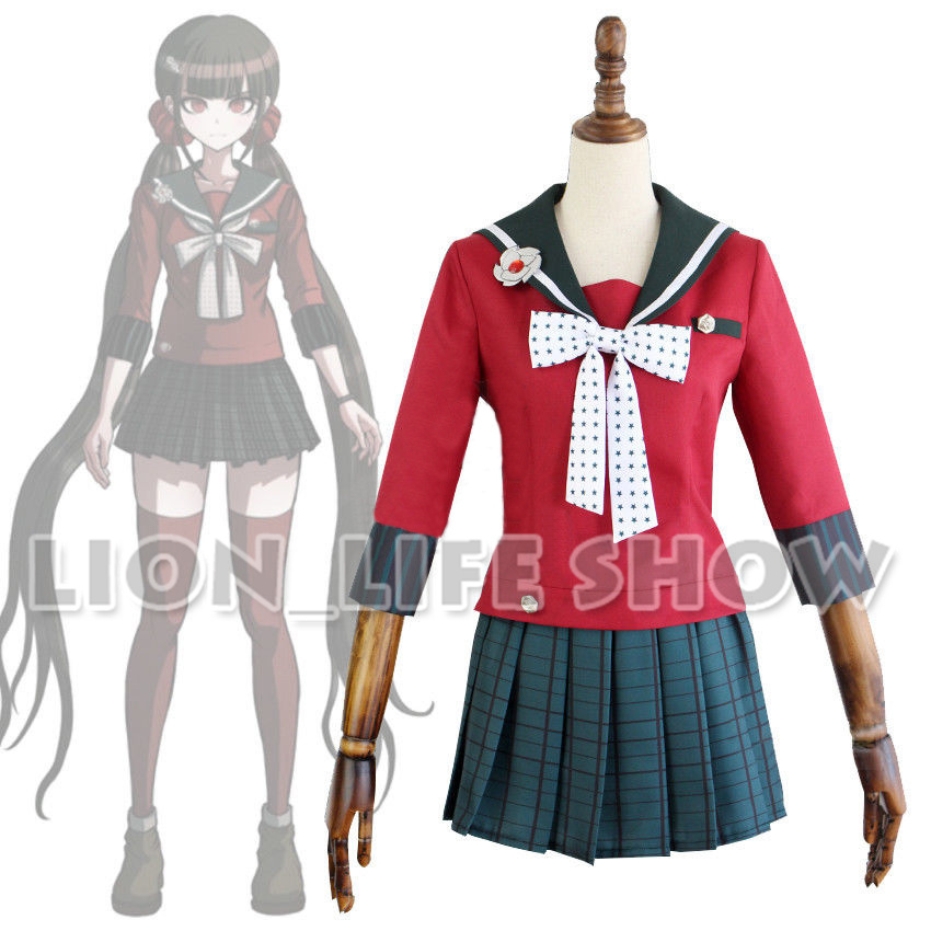 Danganronpa V3 Killing Harmony Harukawa Maki School Uniform Cosplay Costume