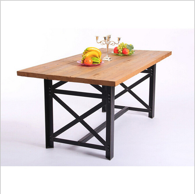 Coffee Cafe Tables And Chairs Wrought Iron Table Vintage Wood Furniture Conference Desk