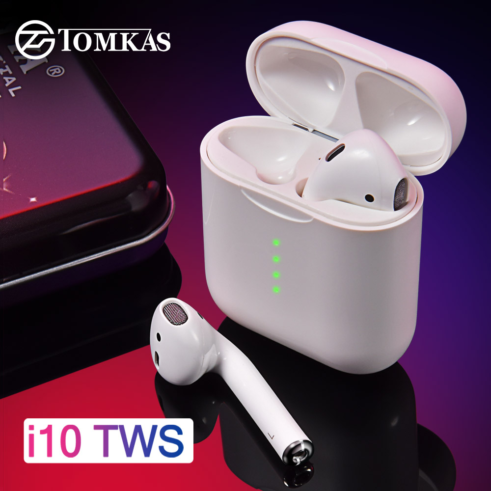 I10 TWS écouteurs bluetooth Air Gousses casque audio sans fil 5.0 bluetooth sans fil Casque Écouteurs Commande Tactile Pour Tous Les smartphone