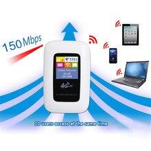 4 г LTE Wi-Fi маршрутизатор мобильной точки доступа МИФИ 150 Мбит/с модем Ulocked Беспроводной ключ 3g 4 г Wi-Fi маршрутизатор с sim автомобиля широкополосный