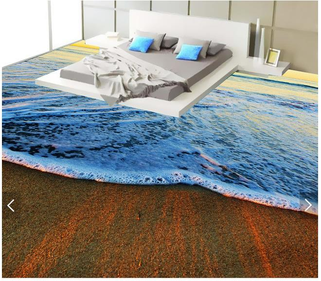 3d wallpaper custom 3d flooring painting wallpaper waves of the sea scenery 3d floor wall paper 3d living room photo wallpaper 30 millennia of painting