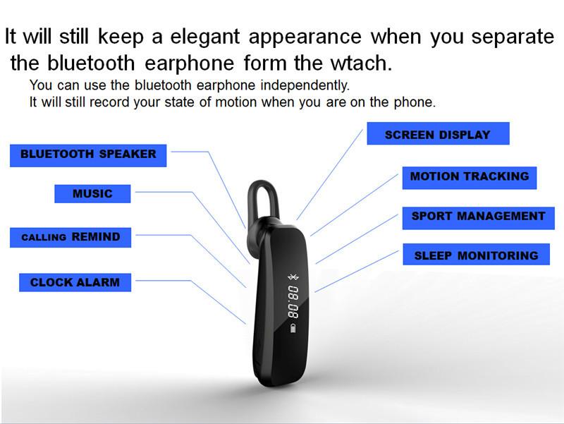 X2 earphone smartband 04