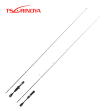 TSURINOYA NEW Casting Spinning Fishing Rod MASTER UL Power 1.4/1.68m FUJI Guide Ring Reel Seat FUJI accessories Trout 2 Sections