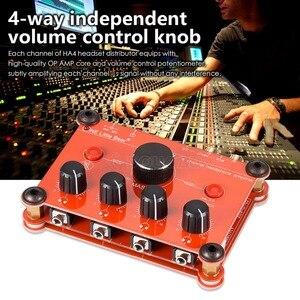 Image 5 - Piccolo Orso P14 Mini Ultra Compatto 4 Channel Stereo Headphone Amp Amplificatore di Studiophile Black & Red