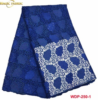 High Quality Nigerian Guipure Lace African Cord Lace Latest 2017 African Guipure Cord Lace Fabric WDP-250