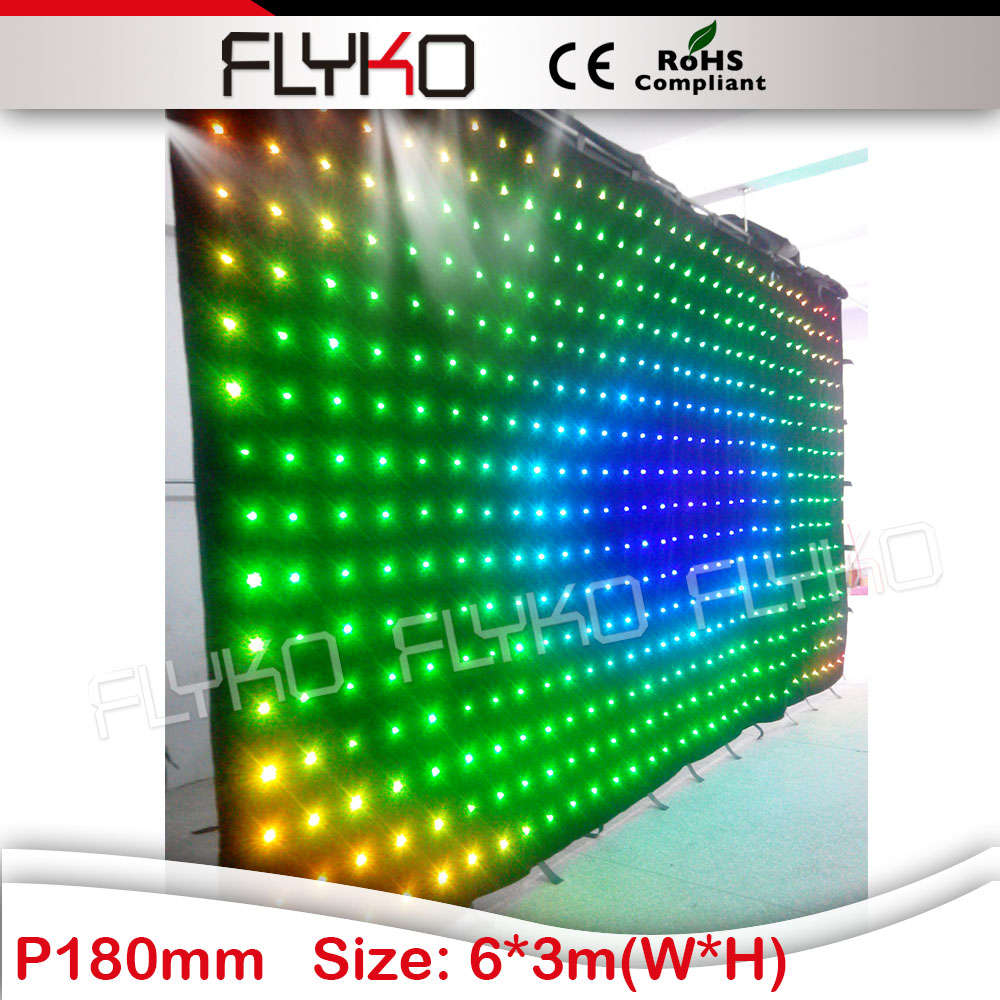ic chips Flyko soft led video curtain xx photos ...