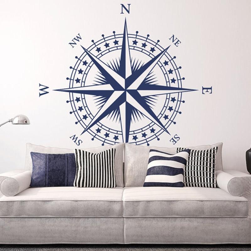 YOYOYU, Muraux, Home, Compass, Rose, Bedroom