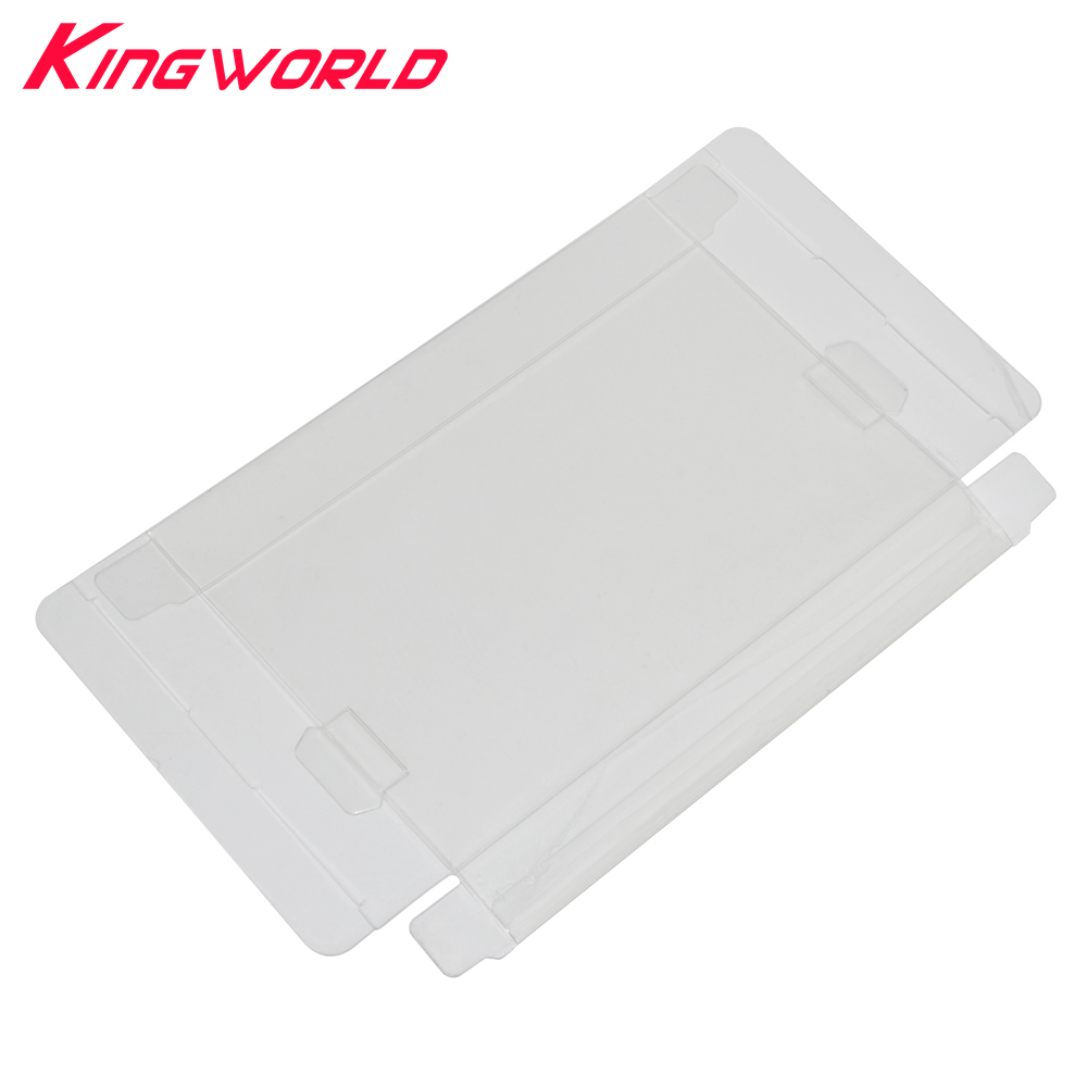 Clear Transparent Cartridge game boxes Protector for NES Game Card Plastic PET Case Boxes