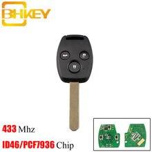 Bhkey для honda ключ 3 кнопки умный дистанционный Автомобильный