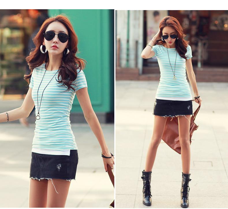 HTB1oiFQPVXXXXXTaXXXq6xXFXXXm - Volocean Summer Casual T-shirts For Women Classic Cotton