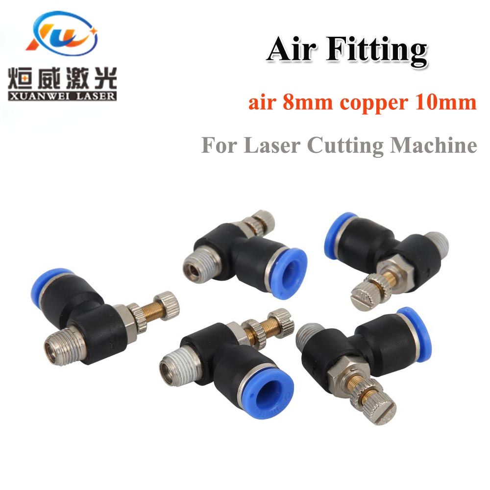 High Quality Air Fitting Air Assist/Air Adjuster Co2 Laser Spare Parts For Co2 Laser Cutting Machine/Laser Cutting Head Price $15.00