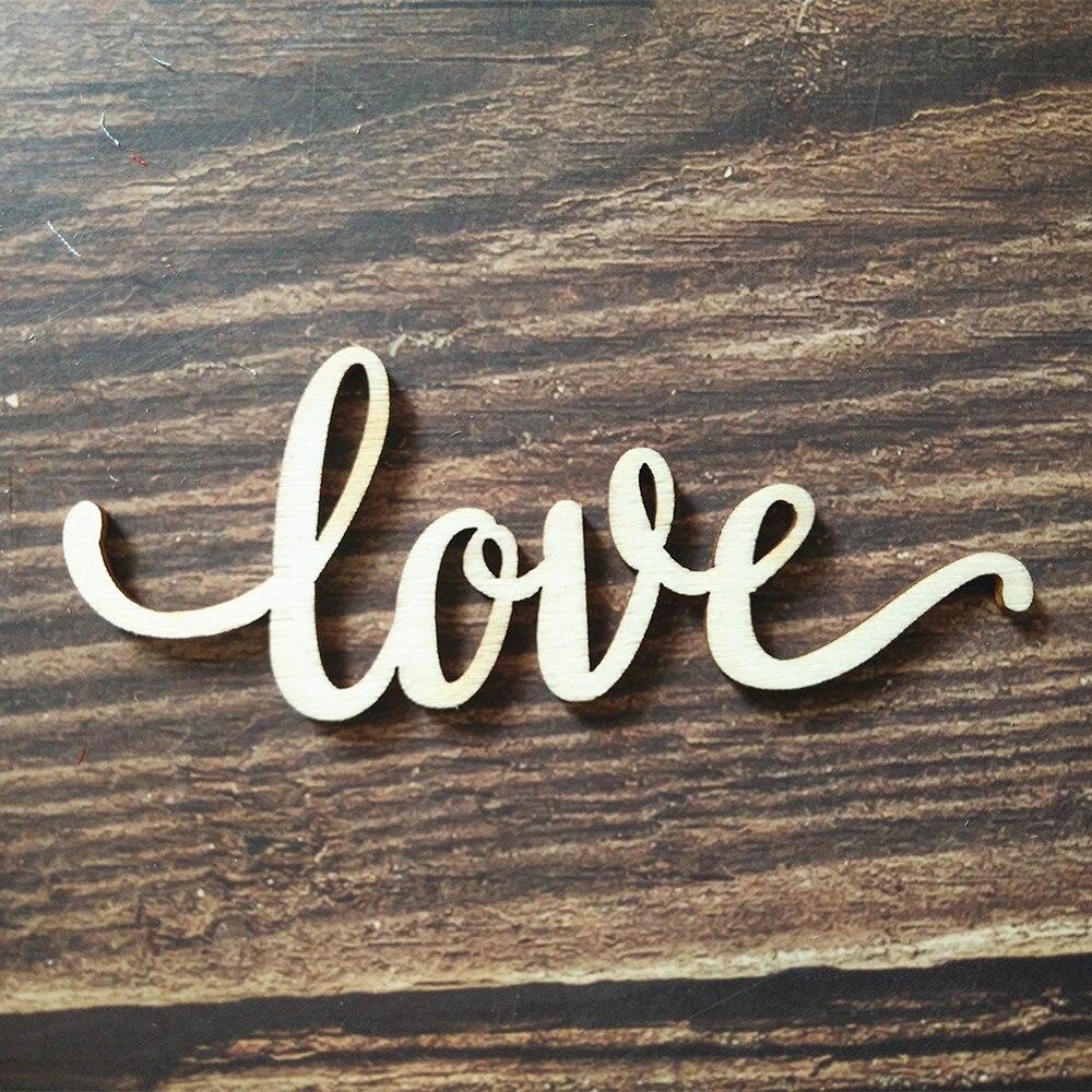 Artminds DIY Farmhouse Love Wooden Wall Sign New Cursive