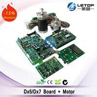 single head key board+driver board+head board+mother board for DX5/DX7 head(including dc motor and stepper motor)