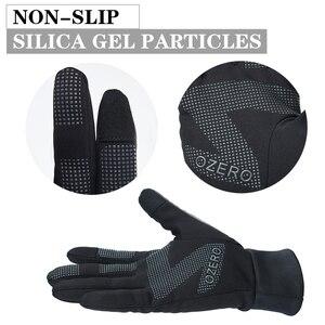 Image 3 - OZERO мужские рабочие перчатки с сенсорным экраном, водительские спортивные зимние уличные теплые ветрозащитные водонепроницаемые перчатки ниже нуля для мужчин и женщин 9002