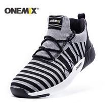 ONEMIX New Running Shoes men warm height increasing