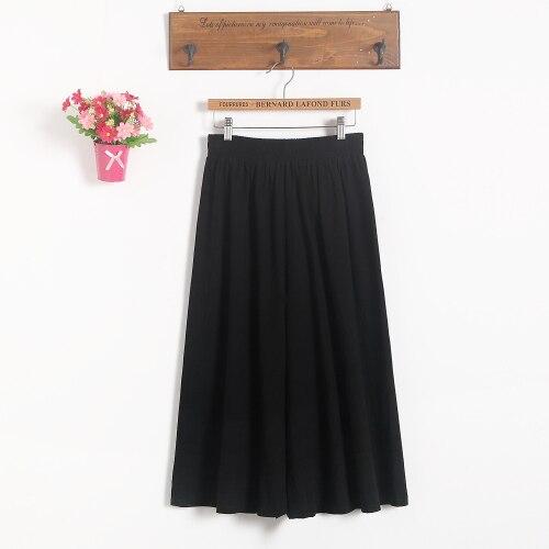 Модные женские короткие юбки для беременных; юбка с поясом; юбка для беременных; большие размеры; юбка-брюки; Одежда для беременных - Цвет: Черный