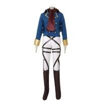 Attack on Titan Shingeki no Kyojin Mikasa Ackerman Survey Corps Cosplay Costume Custom Made