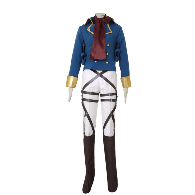 Attack on Titan Shingeki no Kyojin Mikasa Ackerman Survey Corps Cosplay Costume Custom Made