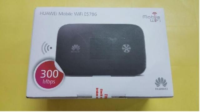 300M 4G wifi router huawei e5786 LTE WiFi 3g 4g Wireless Router 4g lte  router Cat6 dongle 3g mifi pocket pk e5776 e5372 e589-in Networking from