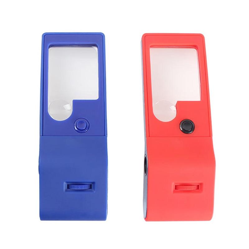 Multifunctionele compacte loep 3X / 10X 6 LED- en UV-verlichting 55X - Meetinstrumenten - Foto 3