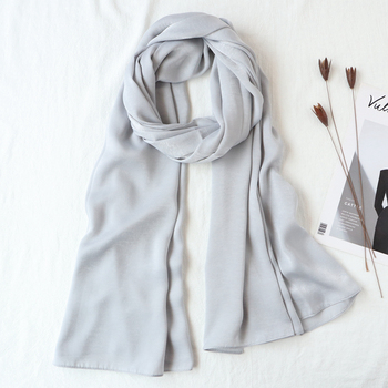 One piece solid plain malaysia high satin silk hijabs shinny hijab scarf islam shawl head