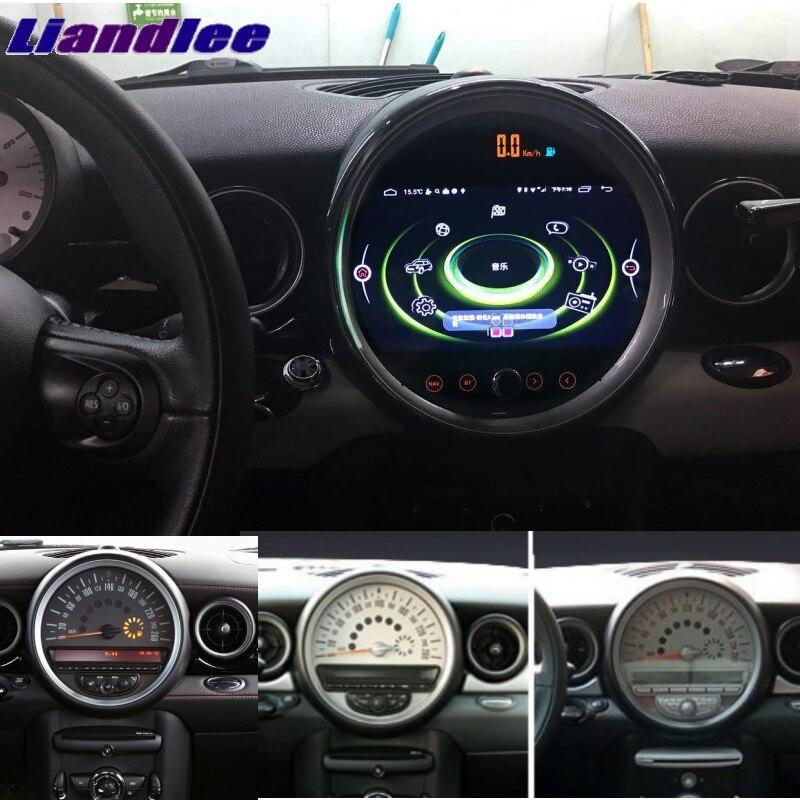 Pour Mini ONE R55 R56 R57 R58 R59 R60 R61 NAVI Liandlee lecteur multimédia de voiture autoradio adaptateur CarPlay stéréo Navigation GPS