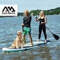 370*87*15 CM AQUA MARINA SUPER REIS opblaasbare sup stand up paddle board opblaasbare surf board surfplank opblaasbare kajak camera